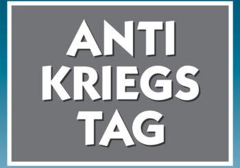Kundgebung zum Antikriegstag 2021